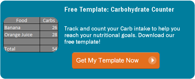 Download Carb Counter Template