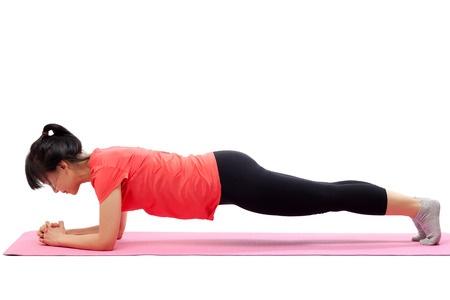 Woman Plank
