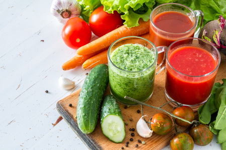 Mixed Vegetables and Juice